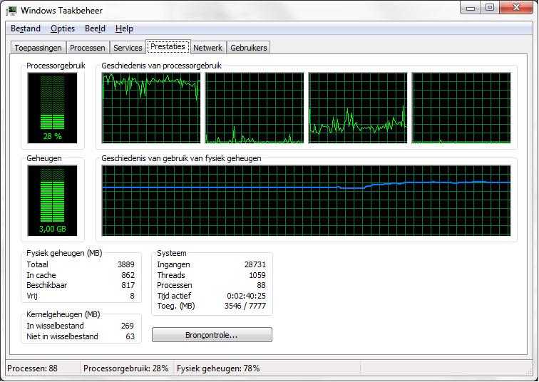 geheugen ddr3 1067 mhz